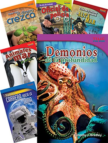 Time for Kids Informational Text Grade 5 Spanish Set 1 10-Book Set (Time for Kids Nonfiction Readers) (Teacher Created Materials Library) por Teacher Created Materials