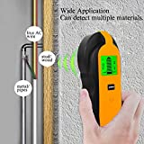 Stud Finder Center-Finding 3-in-1 Metal AC Wire Stud Wall Detector Wall Wire Scanner Wood Finder with LCD Display and Beep Warning Bild 3