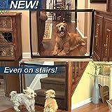 Mooyii Hund Katze Türschutzgitter Treppenschutzgitter Treppenschutz Türschutz Mesh Netz