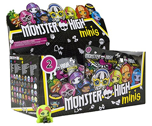 18 Stk. Monster High Minis im Blindpack Serie ()