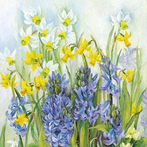 etten - Servietten Lunch / Party / ca. 33x33cm Spring In Bloom - Ideal Als Geschenk Und Tisch-Deko (Spring Party Dekorationen)