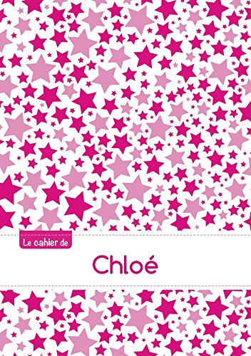 Le cahier de Chloé - Séyès, 96p, A5 - Constellation Rose