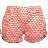 Lil Poppets Fluro Shorts with Bow for gi...