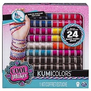 Spin Master Kumi Cools Fashion Packs - KumiFantasy + KumiNeons - Kits de joyería para niños (Pulsera, 8 año(s), Multicolor, Niño, Chica, China)