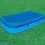 Abdeckpkane - Family Pool 305x183x56 cm mit Befestigungsseilen in Blau medium image