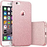 HQ-CLOUD housse étui Coque gel en silicone Paillette Bling Bling pour Apple iPhone 6...
