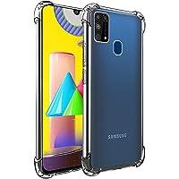 POPIO Back Cover for Samsung Galaxy M31 (Transparent)