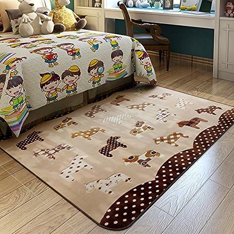 Tappeto Cartoon Cute bambini cameretta bambini tappeto tappeto imbottito per
