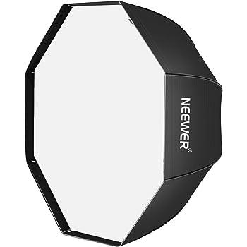 """Neewer - 47""""/120cm Ombrello Softbox Ottagonale per Flash da Studio, Speedlight con Borsa per Ritratti o Fotografia di Prodotti"""