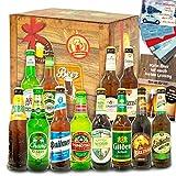 Bier Geschenkbox | 12x Bier aus der Welt & Deutschland | Geschenkset mit Bier