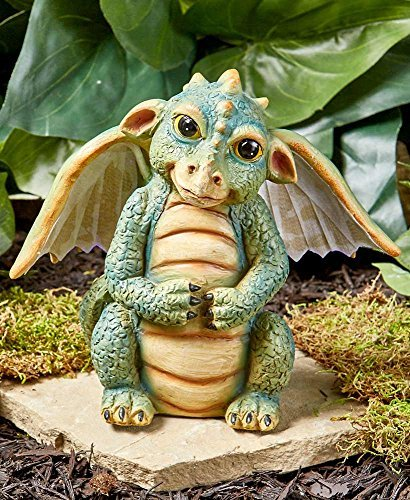 der Lakeside Kollektion Faser Dragon Statue