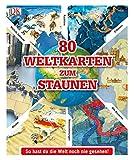 80 Weltkarten zum Staunen: So hast du die Welt noch nie gesehen! -