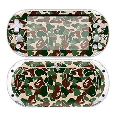 Sony PS Vita 2000 Playstation Skin Design Foils Faceplate Set - Camouflage Design by CSBC / Playstation + XBOX Skins