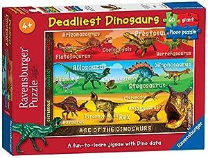 Ravensburger - Dinosaurios, Puzzle de 60 Piezas (05393 3)