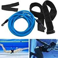 NetEraEU - Ceinture de résistance pour natation - Durable et résistante - Élastique - Pour piscine, jardin, jardin