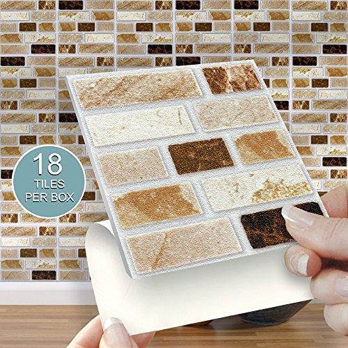 Self Adhesive Tiles for Walls: Amazon.co.uk