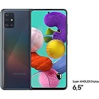 Samsung Galaxy A51 (16.4cm (6.5 Zoll) 128 GB interner Speicher, 4 GB RAM, Dual SIM, Android, prism crush black) Deutsche…