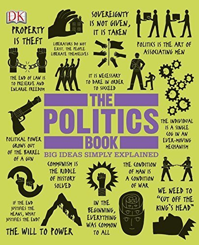 The Politics Book (Big Ideas Simply Explained) by DK Publishing(February 18, 2013) Hardcover