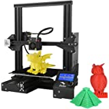 Creality 3D Official Ender 3 Upgraded 3D Printer, Aluminum DIY 220X220X250MM Print Size with 3idea PLA White Filament