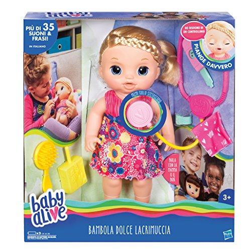 Hasbro Baby Alive- Dolce Lacrimuccia (Bionda), TU, C0957103