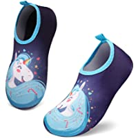 UBFEN Scarpe da Acqua Bambini Rapida Asciugatura Scarpe da Immersione da Mare da Spiaggia per Sportive Acquatici Nuotata