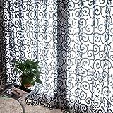 FMYXZ Ein Panel Rustikal Blumen / Pflanzen Wie im Bild Wohnzimmer Polyester Flächenvorhänge Vorhänge , claret