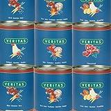 Veritas Hundemenü 28 x 800 g Dosen in 6 Geschmacksrichtungen Hundenahrung Premium Nassfutter Hundefutter ohne Konservierungsstoffe, keine chemischen Farb-, Duft- und Lockstoffe