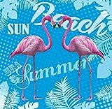 Tarrago Badetuch Riesen Textil 180x 140cm flamingo pink doppelte Baumwolle 100%