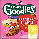 Organix Goodies Framboise Et Pomme Barres De Céréales Organiques 6 X 30G -