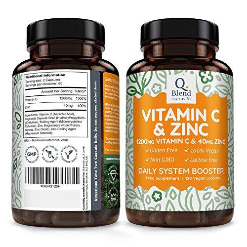 Zoom IMG-1 vitamina c 1200mg 120 capsule