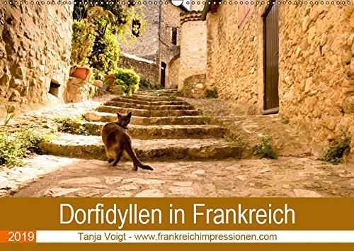 Dorfidyllen in Frankreich (Wandkalender 2019 DIN A2 quer): Mittelalterliche Gassen, Fachwerk und blumengeschmückte Häuser in wunderschöner Umgebung - ... (Monatskalender, 14 Seiten ) (CALVENDO Orte) - Haut-gasse