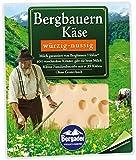 Bergader Bergbauern Käse würzig-nussig Scheiben, 160 g