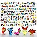 Lote Colección de 144 piezas personajes de Pokemon de plastico diferentes 4411 de ONOGAL