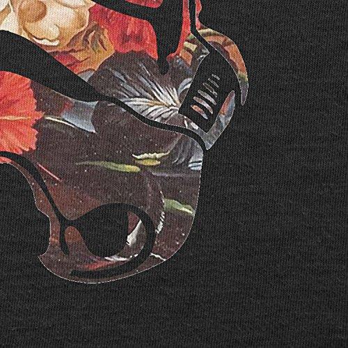 Texlab–Floral Helmet–sacchetto di stoffa Nero