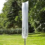 Tri Abdeckhaube für die Wäschespinne, Abdeckung für Gartenmöbel aus wetterfestem Kunststoff, Geeignet für Wäschespinne