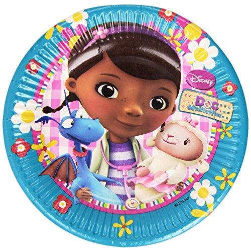 Preisvergleich Produktbild 20cm Disney Doc McStuffins Pappteller, 8Stück