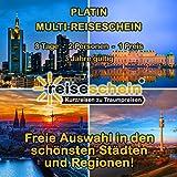 Viaggio Luce Del Buono platino Multi Luce del viaggio per 3giorni kurzurlaub due persone in un hotel scelto - Reiseschein - amazon.it