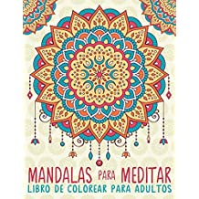 Amazon.es: libros colorear mandalas adultos: Libros