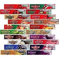 Juicy Jay's Cartine aromatizzate lunghe, 3 confezioni (32 cartine ciascuna), vari sapori