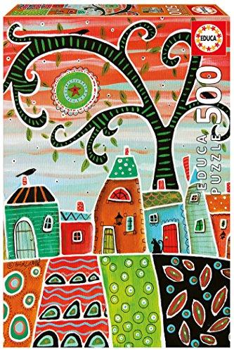 Educa Borrás - 17091.0 - Puzzle - White Trim - Karla Gerard - 500 Pièces