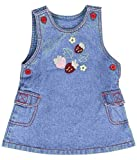 Tillu Pillu Girls' Dress (KDC_45_Blue_2 ...