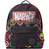 Marvel Avengers Mochila Infantil Marvel, Mochila Escolar Holográfica Capitán América Thor Hulk Iron Man para Niños, Mochila C