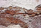 Olimpia Design Fototapete Alte rote Mauer , 1 Stück, , 10182P8