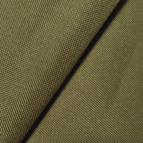 STOFFKONTOR Oxford Polyester Gewebe 600D Stoff Meterware Khaki-Grün