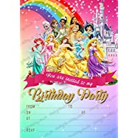 amazon co uk disney princess invitations party supplies toys