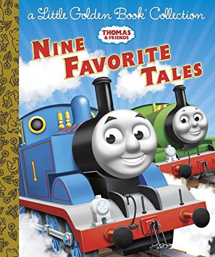 Thomas & Friends: Nine Favorite Tales (Thomas & Friends): A Little Golden Book Collection