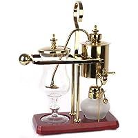 Belgien Royal Balance Siphon Kaffee Maschine Holzsockel Leicht Zu Reinigen Nehmen Permanentfilter,Elegant Retro-Style…