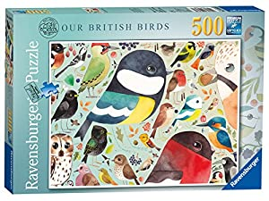 Ravensburger Matt Sewell Nuestra British Birds 500pc Rompecabezas
