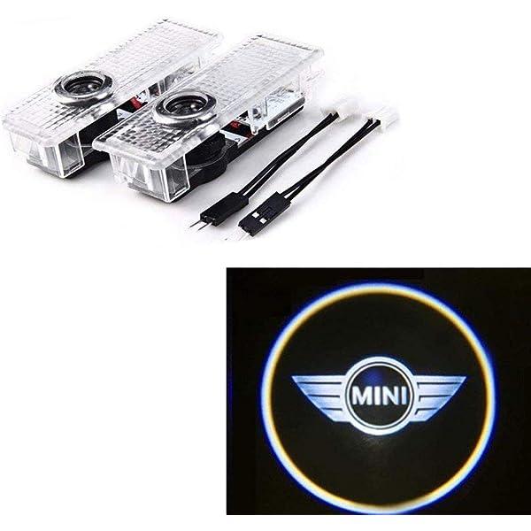 MIVISO LED per portiere auto logo Proiettore Luci fantasma luci Emblema Luci gradini di cortesia