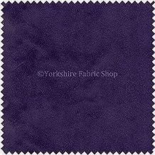 New suave tela de terciopelo ideal para persianas cojines cortinas sofás muebles, color lila–se vende por metro.